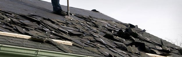 Sometimes roofs are beyond repair. A complete roof tear-off and replacement is required.