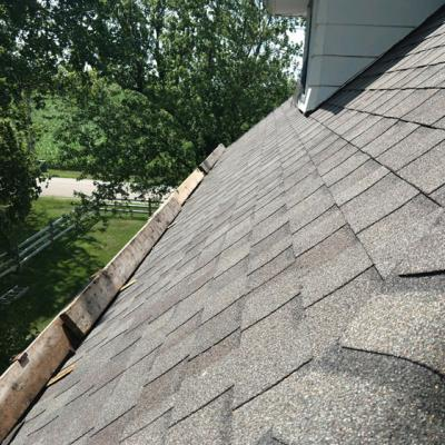 Grey Shingle Roof