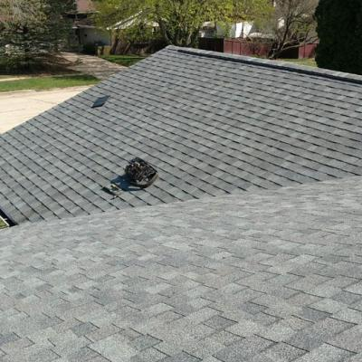 Gray Shingle Roof