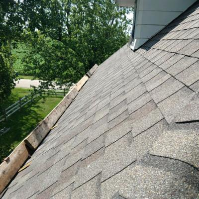 Shingle Roof Close Up